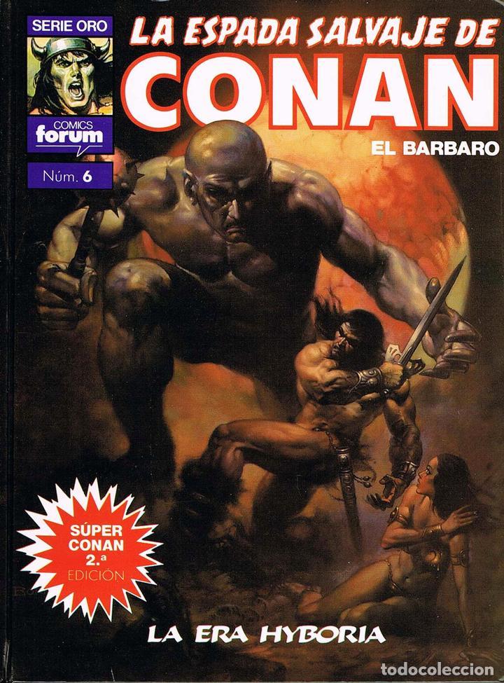 LA ESPADA SALVAJE DE CONAN TOMO 6. LA ERA HYBORIA (Tebeos y Comics - Forum - Conan)