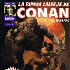 Cómics: LA ESPADA SALVAJE DE CONAN TOMO 6. LA ERA HYBORIA. Lote 62956676