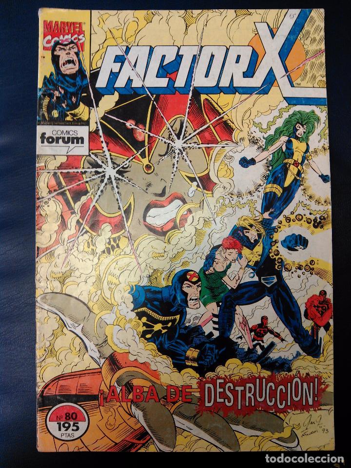 FACTOR X Nº 80 (Tebeos y Comics - Forum - Factor X)