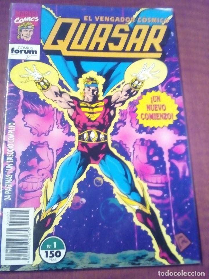 QUASAR N-1 AL 9 COMPLETA L2P4 (Tebeos y Comics - Forum - Otros Forum)