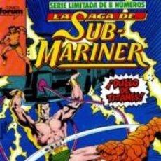 Cómics: LA SAGA DE SUB MARINER Nº 7 - FORUM . Lote 63377964