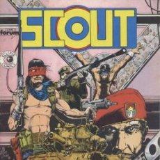 Cómics: SCOUT Nº 4 - FORUM - IMPECABLE. Lote 63455656
