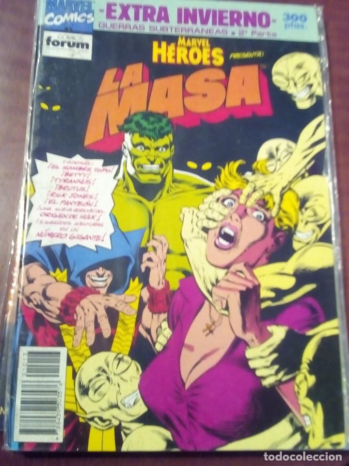 MARVEL HEROS LA MASA EXTRA INVIERNO AÑO 1991 L2P4 (Tebeos y Comics - Forum - Hulk)