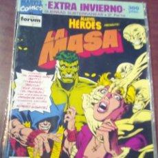 Cómics: MARVEL HEROS LA MASA EXTRA INVIERNO AÑO 1991 L2P4. Lote 63676003