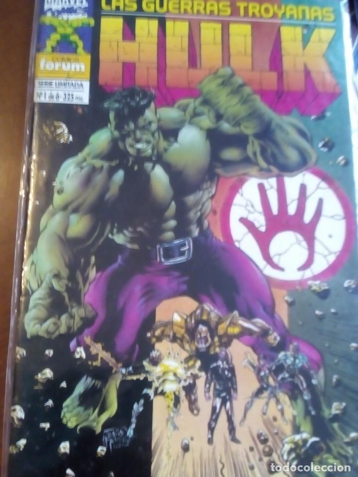 HULK LAS GUERRAS TROYANAS N-1-2-3-5 SERIE DE 6 NUMEROS, TAMBIEN SUELTOS L2P4 (Tebeos y Comics - Forum - Hulk)
