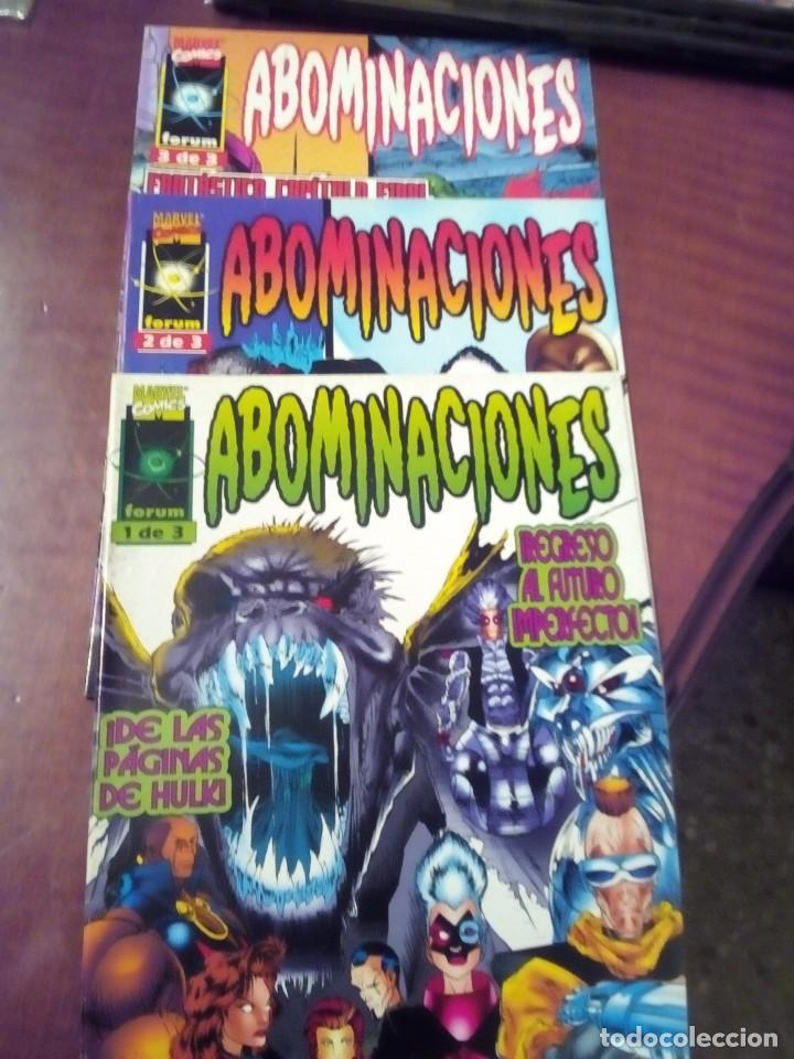 HULK ABOMINACIONES 3 NUMEROS COMPLETA L2P4 (Tebeos y Comics - Forum - Hulk)