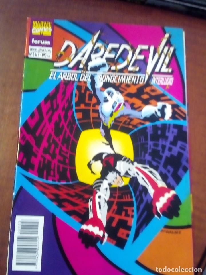 Cómics: DAREDEVIL EL ARBOL DEL CONOCIMIENTO N-1 AL 7 COMPLETA AÑO 1995 L2P4 - Foto 4 - 63734279
