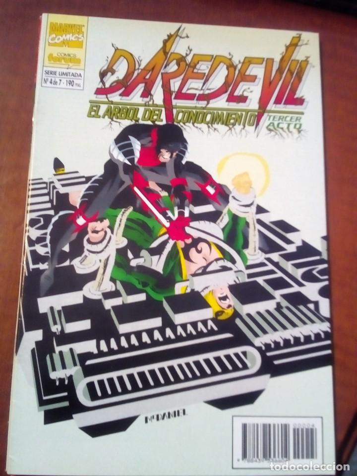 Cómics: DAREDEVIL EL ARBOL DEL CONOCIMIENTO N-1 AL 7 COMPLETA AÑO 1995 L2P4 - Foto 5 - 63734279