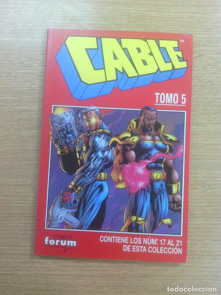 CABLE VOL 1 RETAPADO #5 (NUMEROS 17 A 21) (Tebeos y Comics - Forum - Retapados)