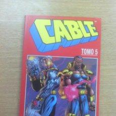 Cómics: CABLE VOL 1 RETAPADO #5 (NUMEROS 17 A 21). Lote 147061345