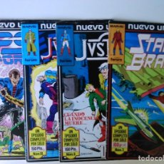 Cómics: LOTE DE 4 COMICS NUEVO UNIVERSO PSI FORCE JUSTICE Y STAR BAND. Lote 63789151