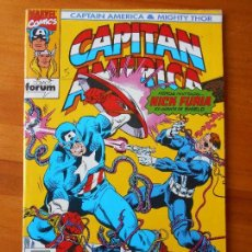 Cómics: CAPITAN AMERICA & MIGHTY THOR Nº 10 - MARVEL - FORUM (Z2). Lote 64008139
