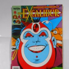 Cómics: EXCALIBUR Nº 15. COMICS FORUM. DIMENSIONES ALTERNATIVAS Nº 4. TDKC19. Lote 64039487