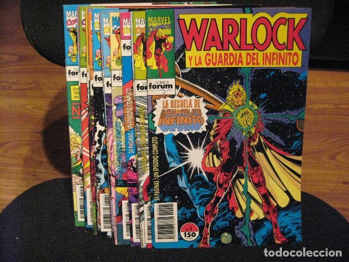 WARLOCK Y LA GUARDIA DEL INFINITO - 17 NÚMEROS - COMPLETA - FORUM (Tebeos y Comics - Forum - Otros Forum)