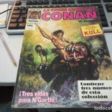 Cómics: CONAN EL BARBARO SERIE ORO. Lote 64097363