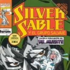 Cómics: SILVER SABLE Nº 3 - FORUM - IMPECABLE. Lote 64117063