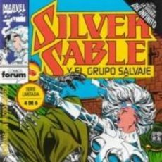 Cómics: SILVER SABLE Nº 4 - FORUM - IMPECABLE. Lote 64117079