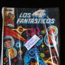 Cómics: LOS 4 FANTÁSTICOS VOL 1 NºS 5/65. TODA LA ETAPA DE JOHN BYRNE AL COMPLETO. DIFERENTES ESTADOS. FORUM. Lote 64148819