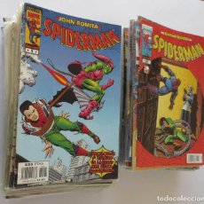 Cómics: JOHN ROMITA SPIDERMAN CASI COMPLETA. Lote 64386443