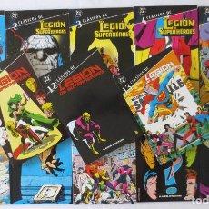 Cómics: CLASICOS DC LA LEGION DE SUPERHEROES 1 AL 13. Lote 64387763
