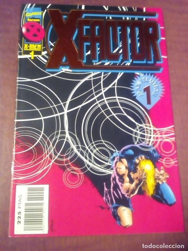 X FACTOR N 1 AL 39 AÑO 1996 COMPLETA L2P5 (Tebeos y Comics - Forum - Factor X)