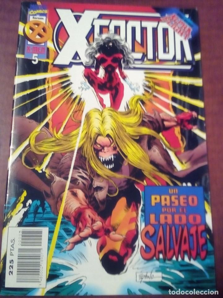 Cómics: X FACTOR N 1 AL 39 AÑO 1996 COMPLETA L2P5 - Foto 5 - 64402387