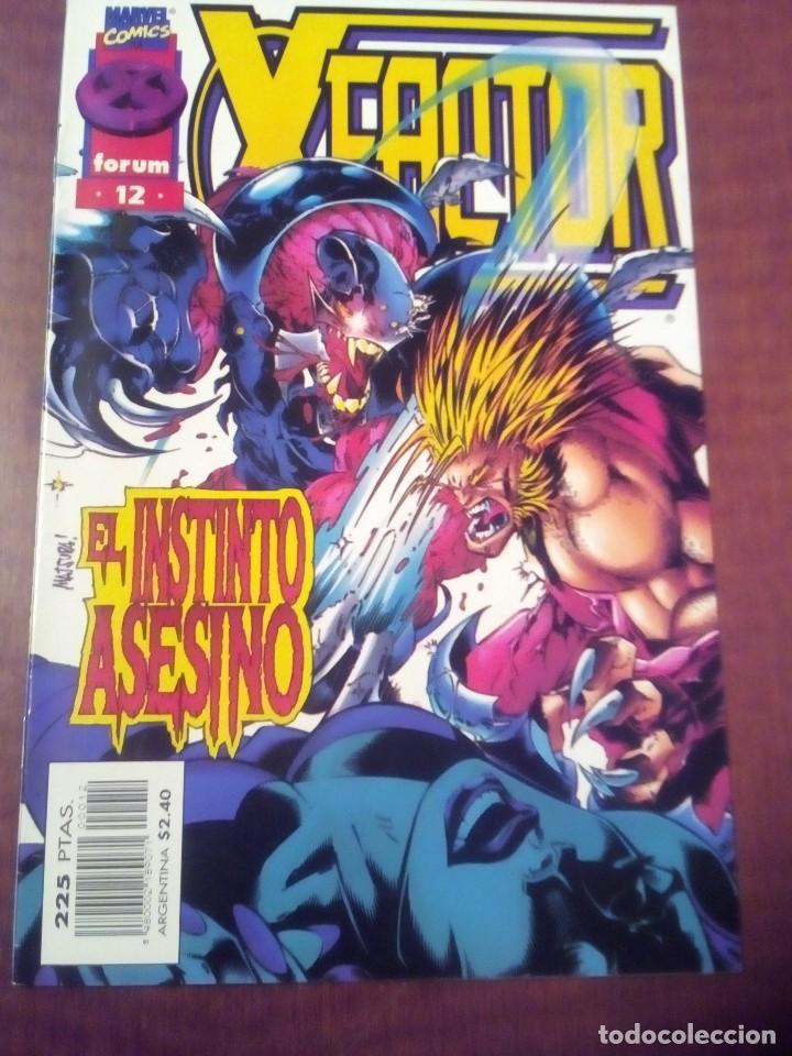 Cómics: X FACTOR N 1 AL 39 AÑO 1996 COMPLETA L2P5 - Foto 12 - 64402387