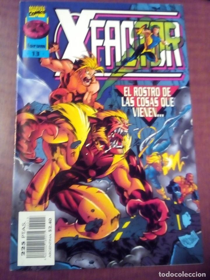 Cómics: X FACTOR N 1 AL 39 AÑO 1996 COMPLETA L2P5 - Foto 13 - 64402387