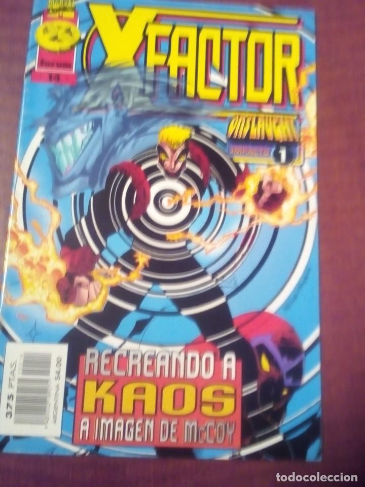 Cómics: X FACTOR N 1 AL 39 AÑO 1996 COMPLETA L2P5 - Foto 14 - 64402387