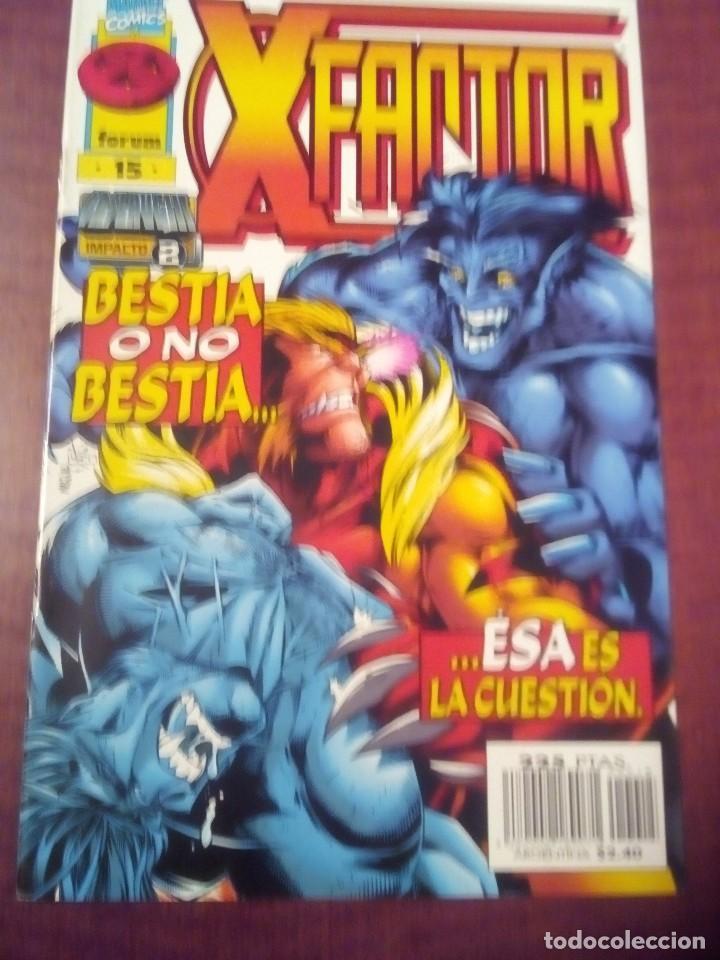 Cómics: X FACTOR N 1 AL 39 AÑO 1996 COMPLETA L2P5 - Foto 15 - 64402387