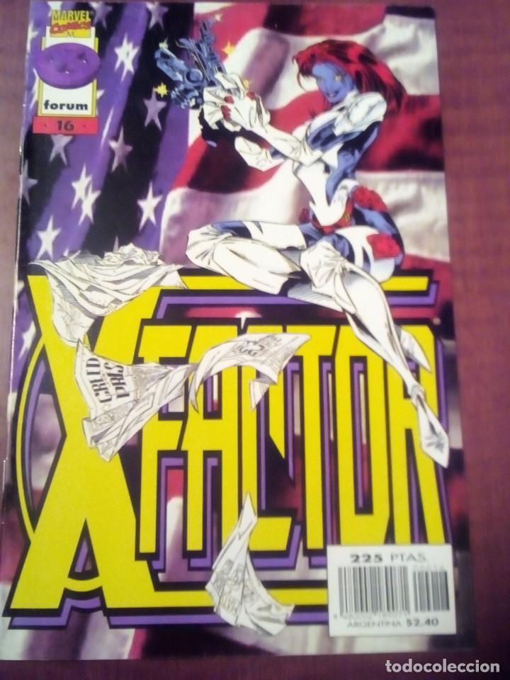 Cómics: X FACTOR N 1 AL 39 AÑO 1996 COMPLETA L2P5 - Foto 16 - 64402387