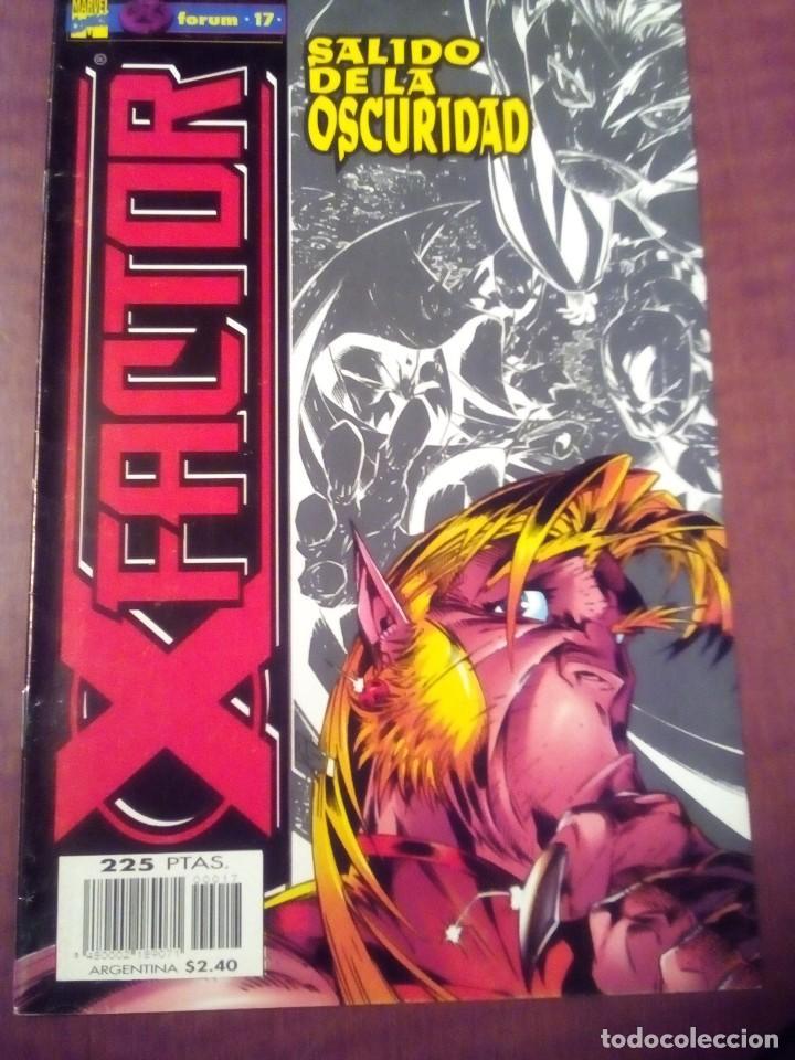 Cómics: X FACTOR N 1 AL 39 AÑO 1996 COMPLETA L2P5 - Foto 17 - 64402387