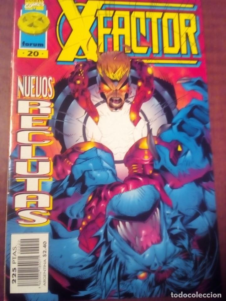 Cómics: X FACTOR N 1 AL 39 AÑO 1996 COMPLETA L2P5 - Foto 20 - 64402387