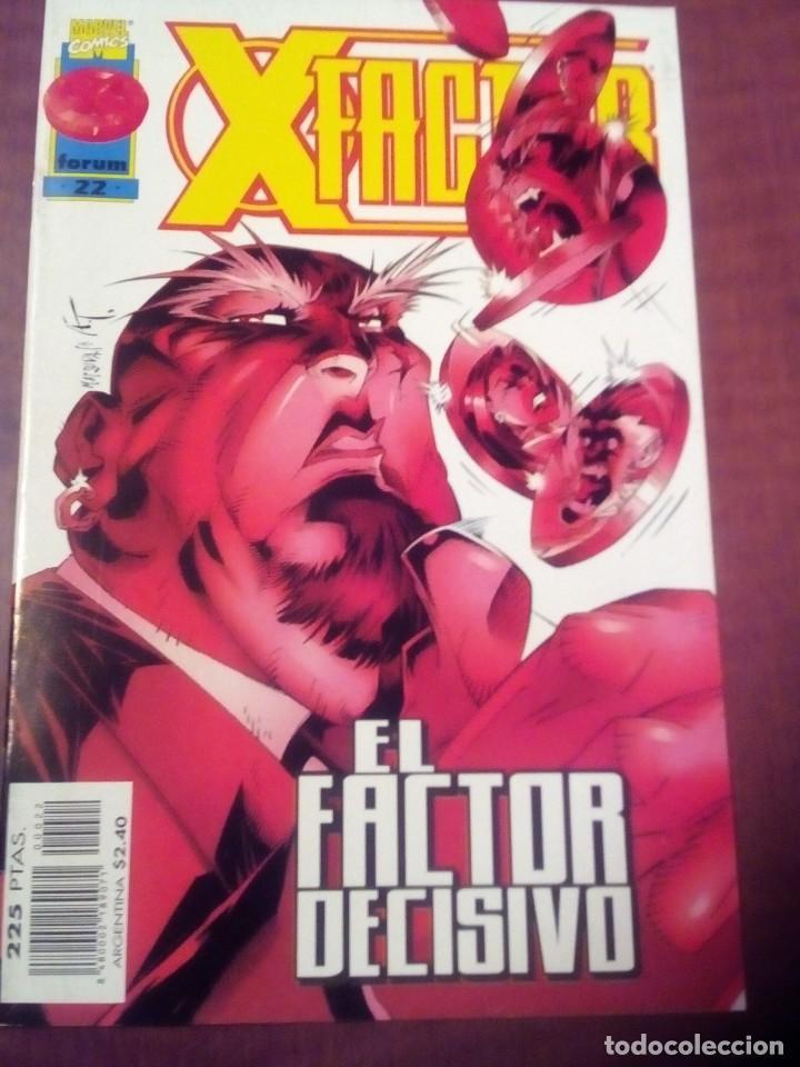 Cómics: X FACTOR N 1 AL 39 AÑO 1996 COMPLETA L2P5 - Foto 22 - 64402387