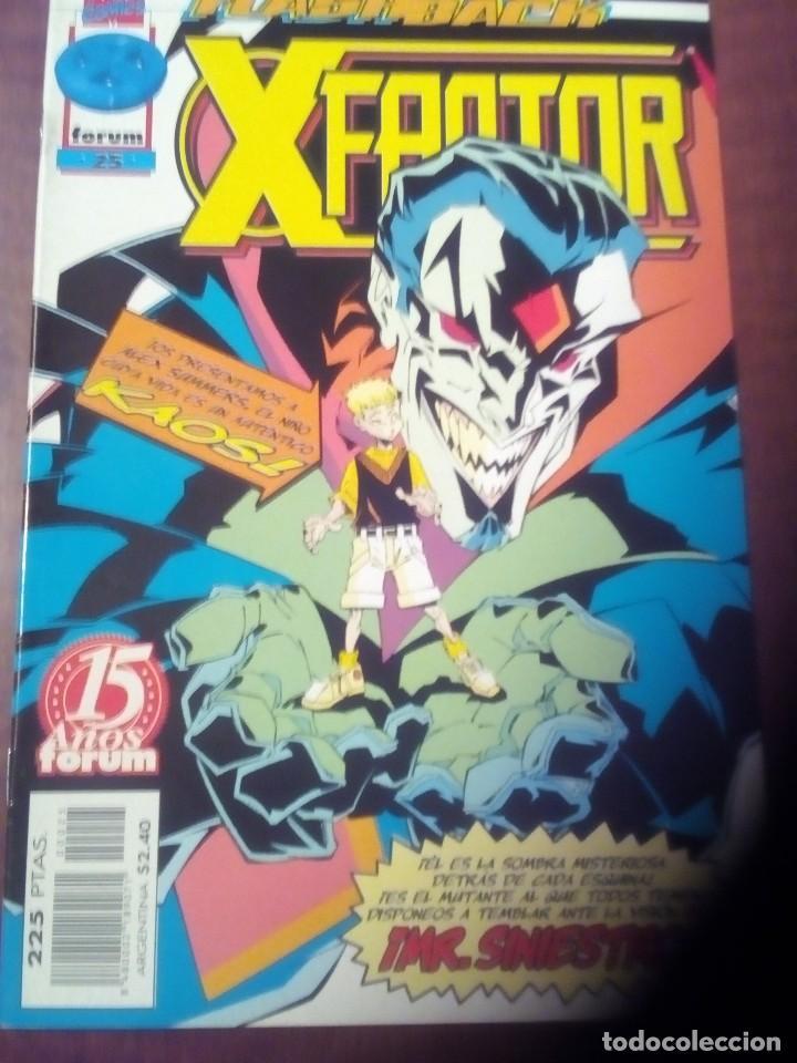 Cómics: X FACTOR N 1 AL 39 AÑO 1996 COMPLETA L2P5 - Foto 25 - 64402387