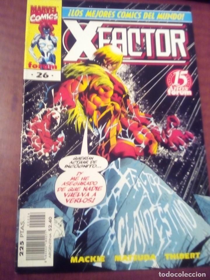 Cómics: X FACTOR N 1 AL 39 AÑO 1996 COMPLETA L2P5 - Foto 26 - 64402387
