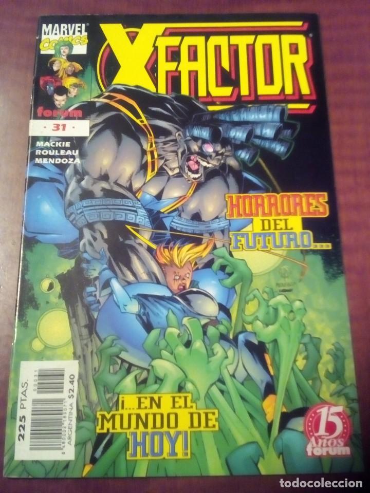 Cómics: X FACTOR N 1 AL 39 AÑO 1996 COMPLETA L2P5 - Foto 31 - 64402387