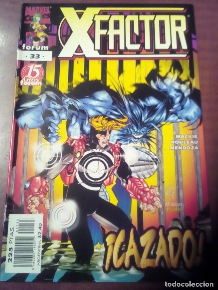 Cómics: X FACTOR N 1 AL 39 AÑO 1996 COMPLETA L2P5 - Foto 33 - 64402387