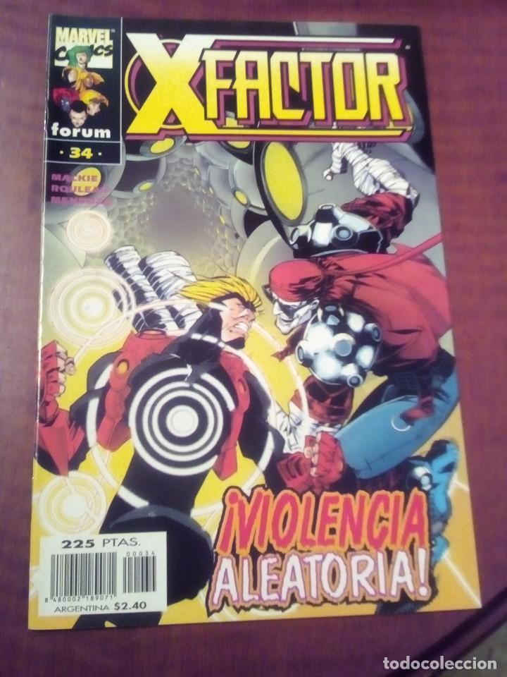 Cómics: X FACTOR N 1 AL 39 AÑO 1996 COMPLETA L2P5 - Foto 34 - 64402387