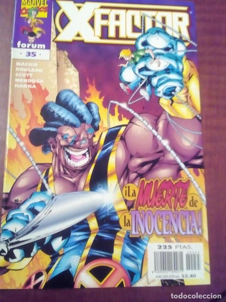 Cómics: X FACTOR N 1 AL 39 AÑO 1996 COMPLETA L2P5 - Foto 35 - 64402387