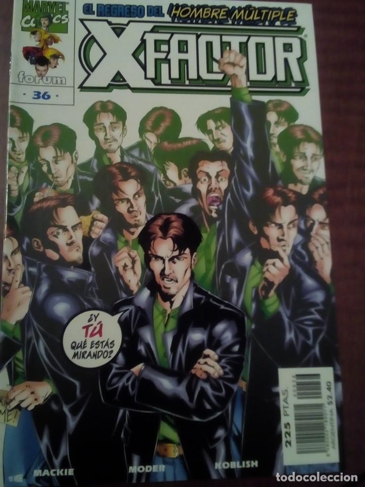 Cómics: X FACTOR N 1 AL 39 AÑO 1996 COMPLETA L2P5 - Foto 36 - 64402387