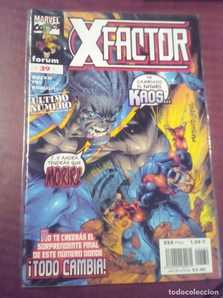 Cómics: X FACTOR N 1 AL 39 AÑO 1996 COMPLETA L2P5 - Foto 39 - 64402387