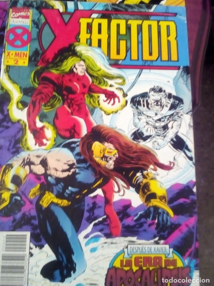 Cómics: X FACTOR LA ERA DE APOCALIPSIS N 1 AL 4 AÑO 1995 COMPLETA L2P5 - Foto 4 - 64408127