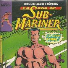 Cómics: LA SAGA DE SUBMARINER COMPLETA 8 Nº FORUM. Lote 64537299