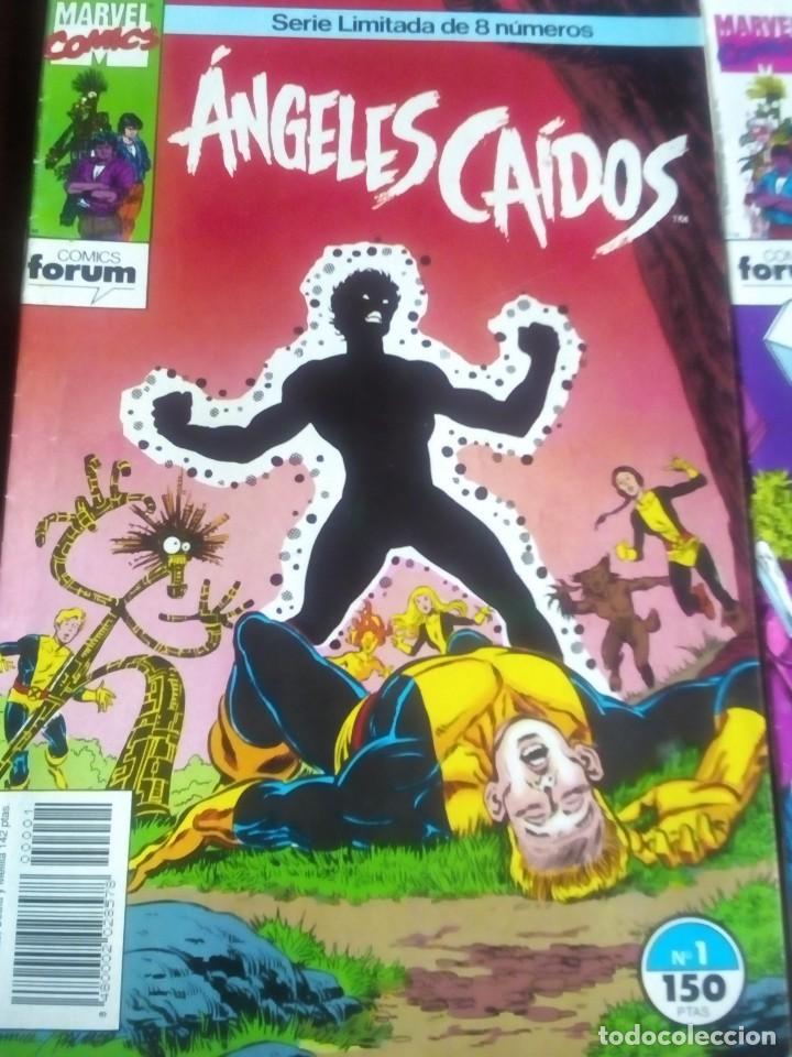 Cómics: ANGELES CAIDOS N 1 AL 8 COMPLETA L2P4 - Foto 2 - 64601147