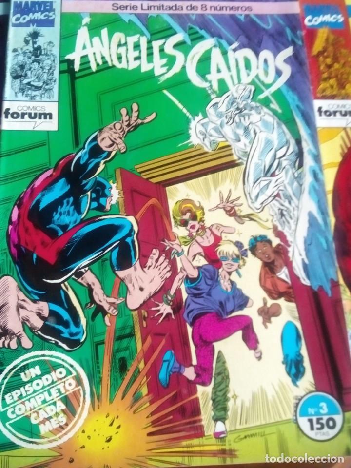 Cómics: ANGELES CAIDOS N 1 AL 8 COMPLETA L2P4 - Foto 4 - 64601147