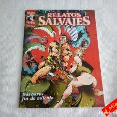 Cómics: RELATOS SALVAJES. BÁRBAROS FIN DE MILENIO / COMIC ESPADA Y BRUJERÍA. Lote 55885617