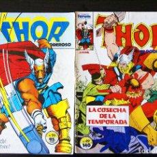 Cómics: THOR VOL 1/VOLUMEN I, 25 ÚLTIMOS NºS, 25/49. WALT SIMONSON. FORUM. 1985. MUY DIFÍCILES.. Lote 64760471