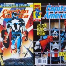 Cómics: CAPITÁN AMÉRICA VOLUMEN 4, COMPLETA 27 NºS. FORUM. 1998. HEROES RETURN/STEVE ROGERS/VOL. Lote 64829935