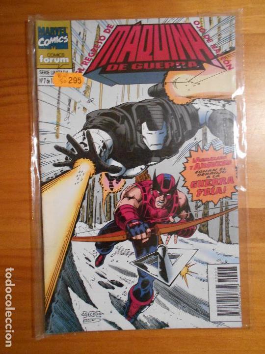 MAQUINA DE GUERRA - SERIE LIMITADA Nº 7 DE 12 - MARVEL COMICS - FORUM (Z2) (Tebeos y Comics - Forum - Iron Man)